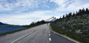 Approaching Stora Sjöfallet.